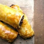 Vega saucijzenbroodjes: kapucijnerbroodjes