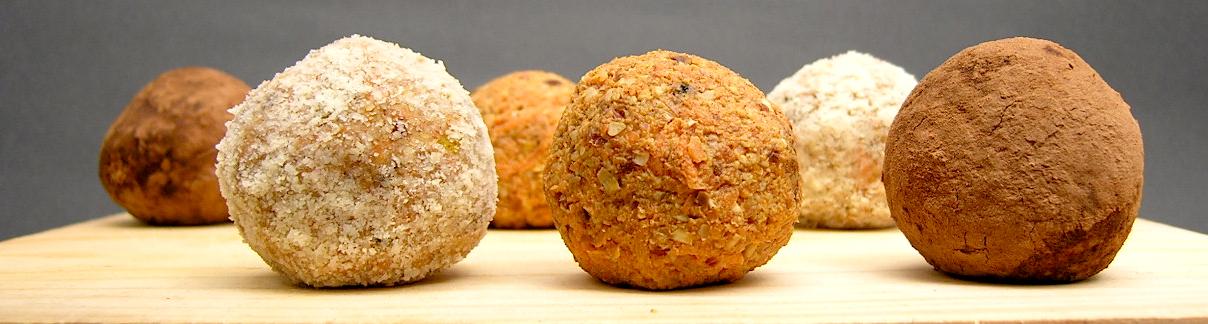Wortelcakebollen (raw, vegan en glutenvrij)