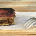 Feestelijke vegan appelcake met knapperige bodem en dadel-karamel topping