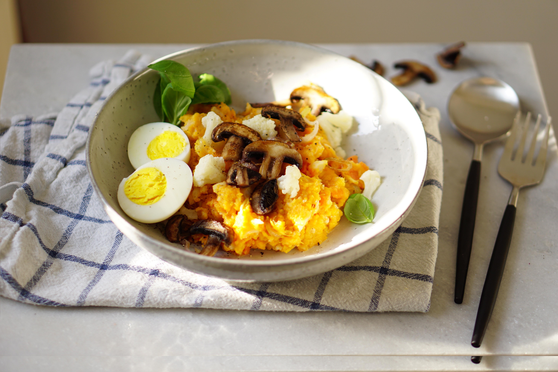bloemkool en aardappelen samen koken