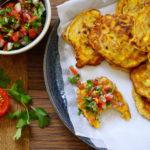 MAISKOEKJES | met koriander salsa