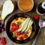 GOLDENKWARK ONTBIJT | lekker ontbijtje van kwark met curcumamma-mix