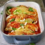 VEGA CHINESE KOOL ENCHILADAS | met gegrilde mais en komijn-kidneybonen