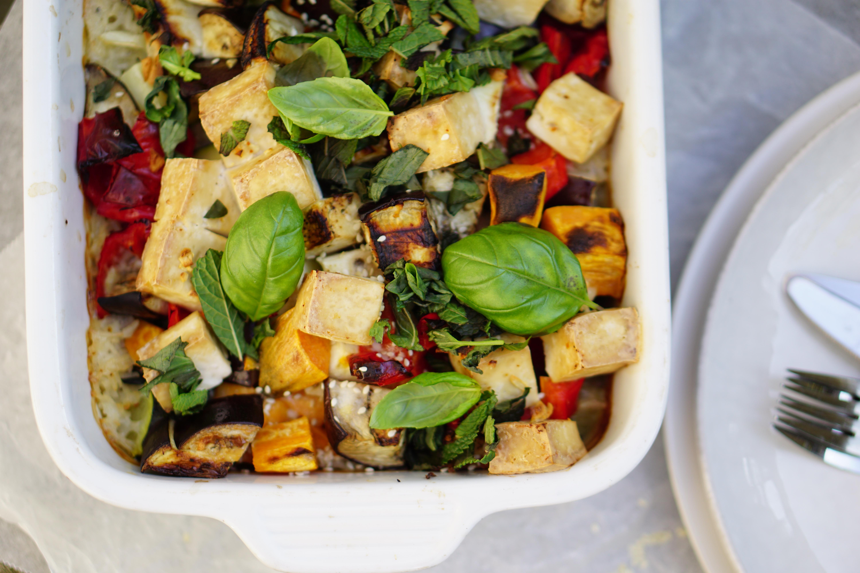 LIFEHACK | rijst- en groenteschotel uit de oven