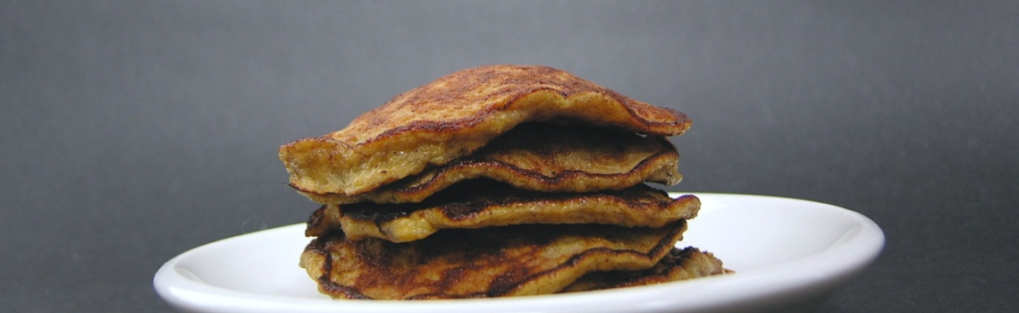 Glutenvrije banana pancakes