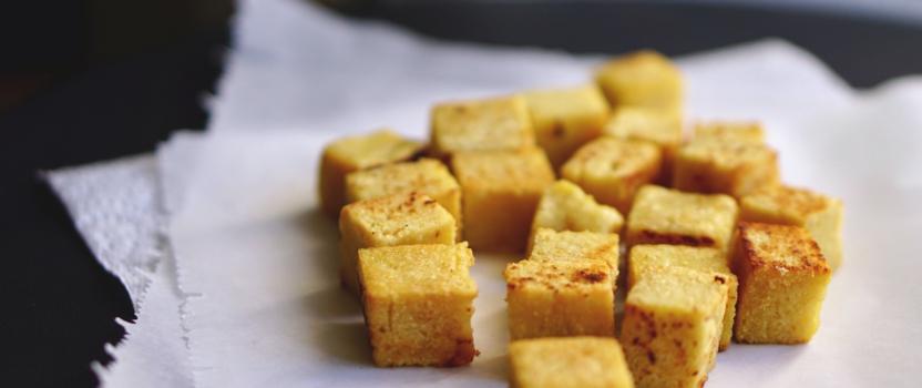 Shan tofu: Birmaanse tofu gemaakt van kikkererwten