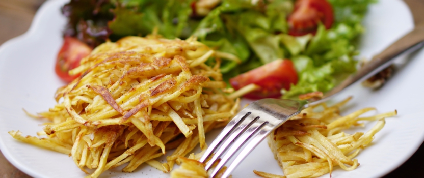 Pastinaak-rosti's | eet ze bij je favoriete salade