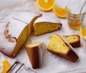 MAKKELIJKE SINAASAPPEL-OLIJFOLIE CAKE | met honing