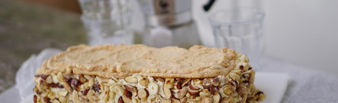 DE NIEUWE HAZELNOOTSCHUIMTAART | lactosevrij, glutenvrij en heel erg lekker