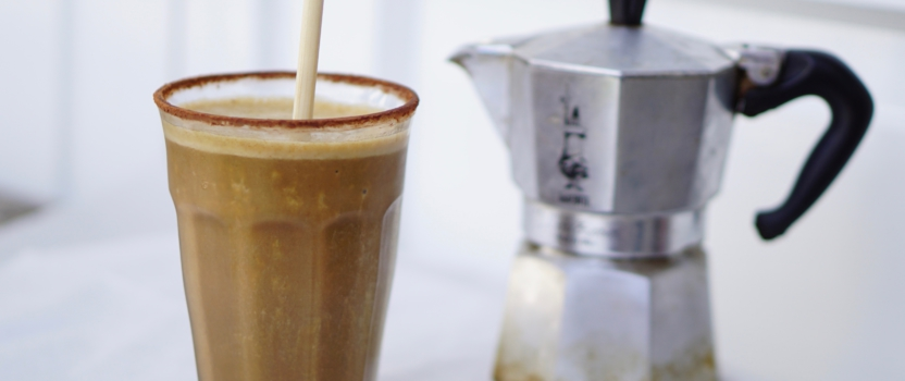 BANANA NICE-COFFEE | vegan ijskoffie
