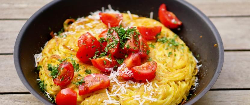 KLIEKJESDAG | pasta frittata