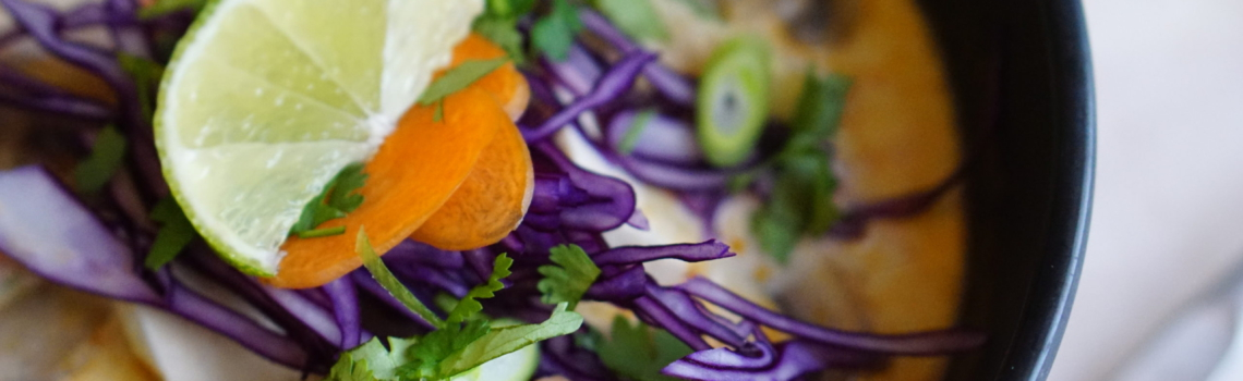 TOM KHA TOFU | vegan Thais super soepje