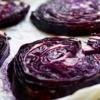 RODE KOOL STEAKS | geroosterde rode kool met balsamico-knoflook glaze