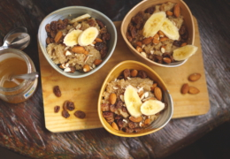 Amaranth breakfast bowls