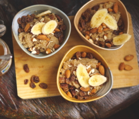 Amaranth breakfast bowls