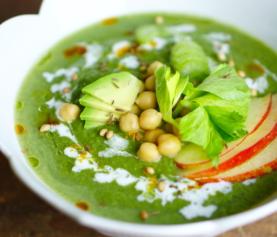 Groen detox soepje