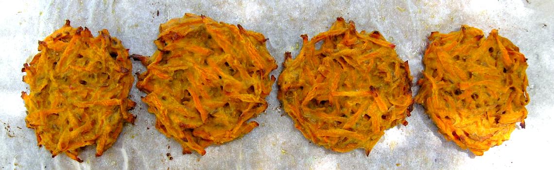 Hartige wortelkoekjes