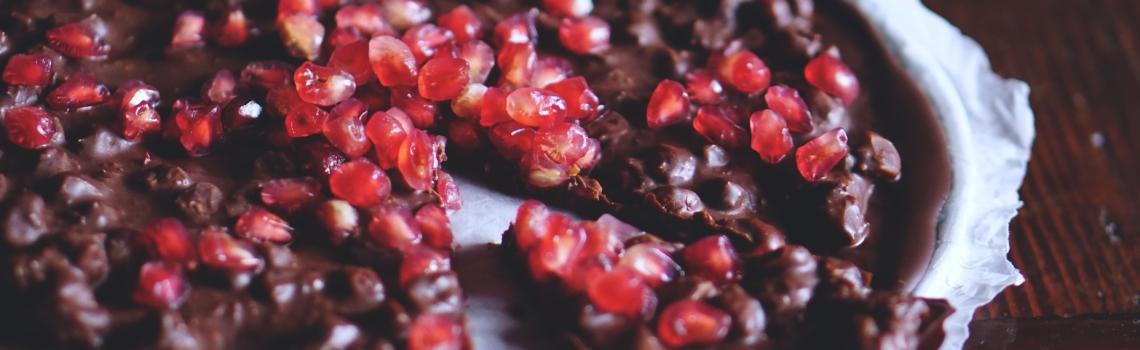 Juwelen op chocola