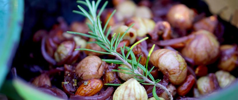 Herfstig stoofpotje met kastanjes