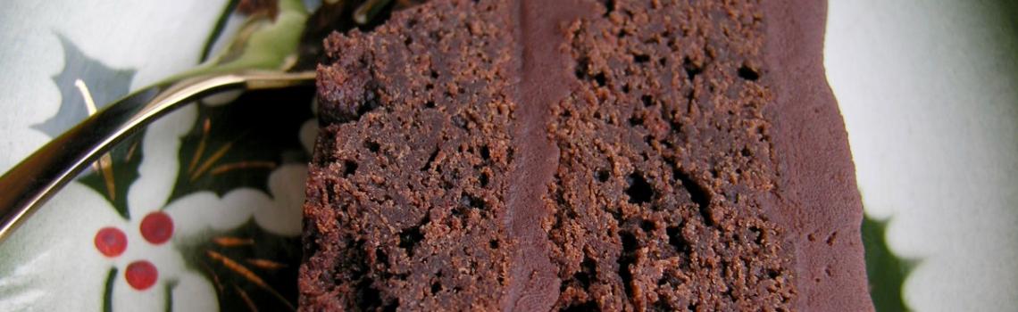 De chocoladetaart