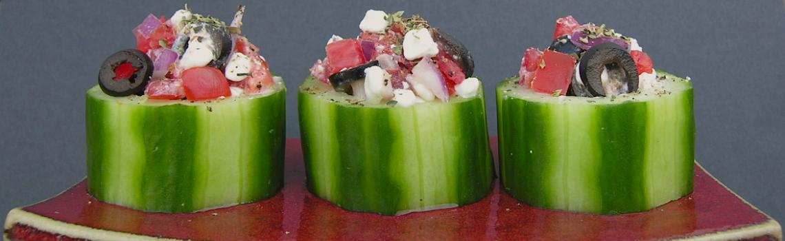 Komkommer kuipjes