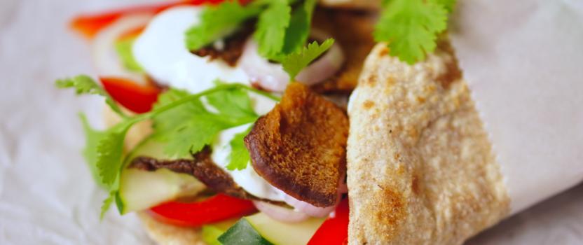 Vega seitan broodjes
